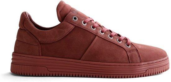Herensneaker Maat Hoogwaardig Urban jeffersonSportieve Leder 44 Nogrz Rood T 0O8mnvNw