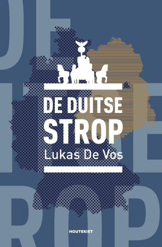 Boek cover De Duitse strop van Lukas De Vos (Paperback)