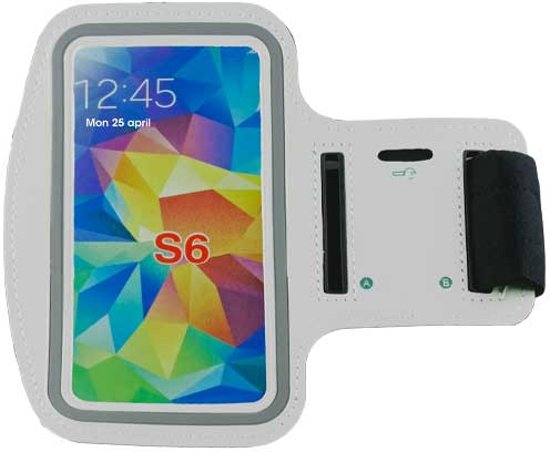 Sportarmband Samsung Galaxy S3/S4/S5/S6/S7 & HTC M7/M8/M9 wit