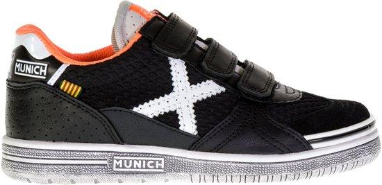 Munich G De Chaussures De Sport De 3 Vco-enfant Sneakers Junior - Taille 29 - Unisexe - Orange / Blanc zGeUM