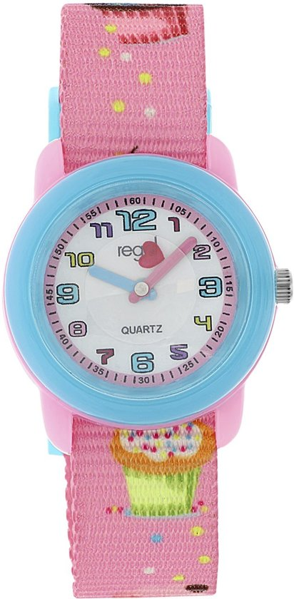 Regal Regal kinder horloge met roze band
