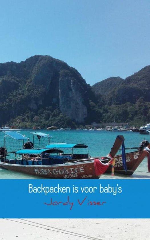 Backpacken is voor baby's