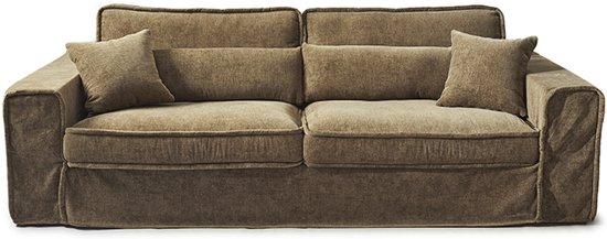Bankhoes Riviera Maison.Riviera Maison Metropolis Sofa 3 5 Seater Clay Globos Giftfinder