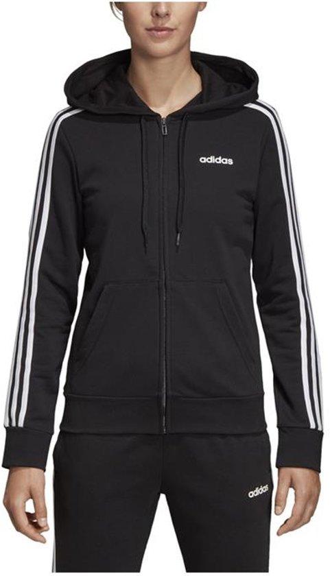 adidas Essentials 3 Stripes vest dames zwartwit