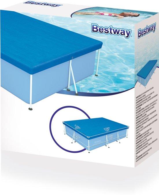Bestway Zwembad Afdekzeil 300 x 201 cm