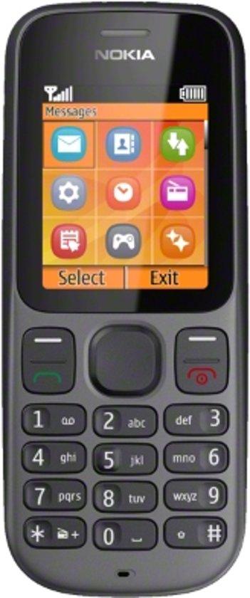 Nokia 100 - Zwart - Vodafone prepaid telefoon