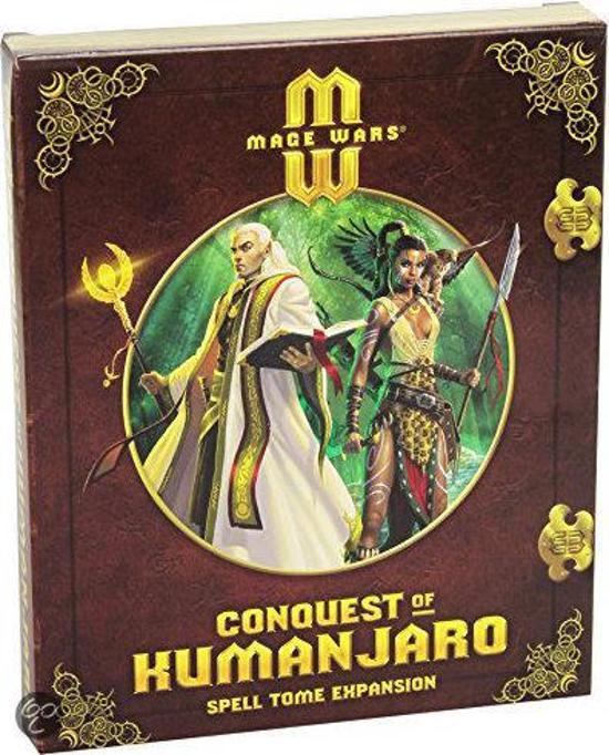 Mage Wars Conquest of Kumanjaro Exp.