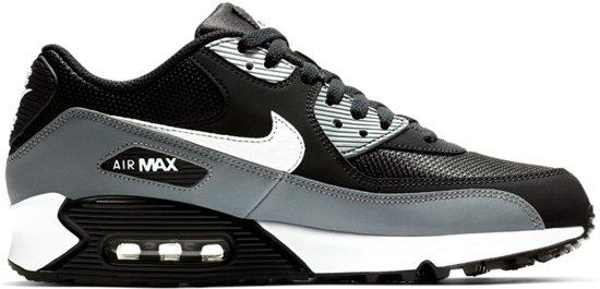 Nike Air Max 1 Sneakers ZwartGrijsWit Heren Maat 43