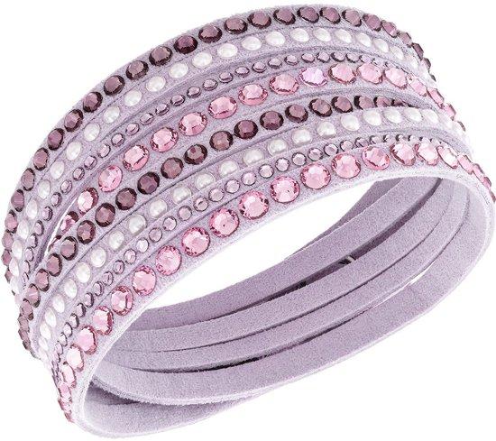 swarovski armband slake deluxe 5120639 roze. Black Bedroom Furniture Sets. Home Design Ideas