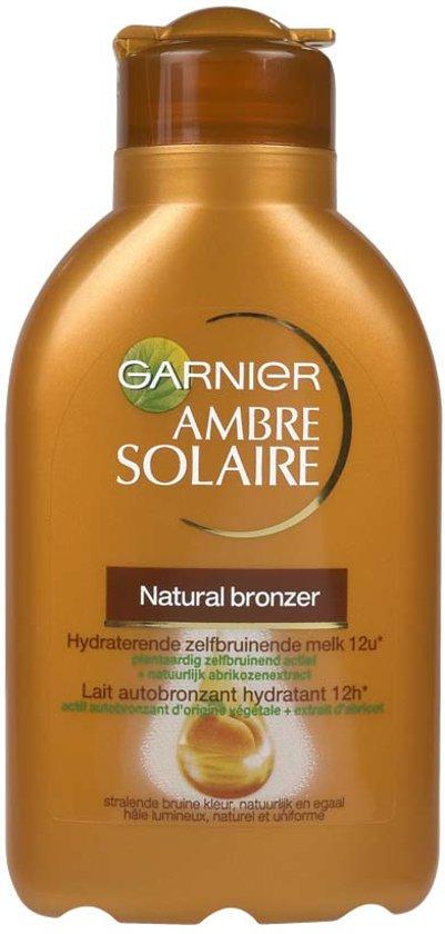 Garnier Ambre Solaire Natural Bronzer Zelfbruinende Melk - 150 ml - Zelfbruiner melk   Gezichtsbruiner   Zelfbruiner   Zelfbruiners