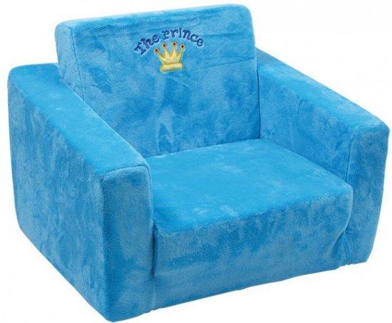 Bol.com blauwe prinsen stoel voor kinderen 40 cm