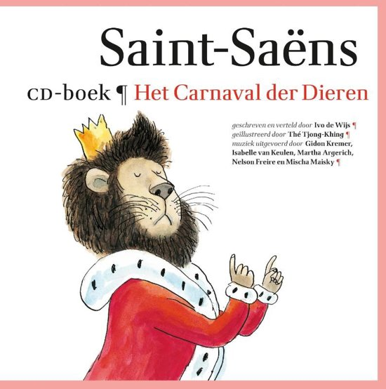 Het Carnaval der Dieren  + CD