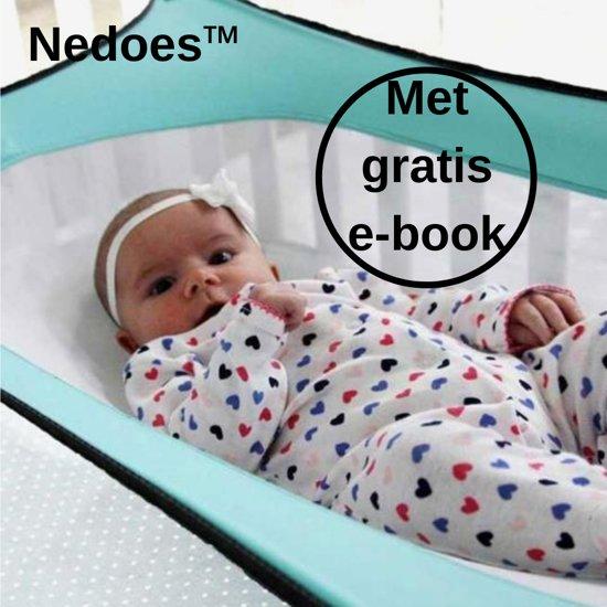 Hangmat In Box.Nedoes Baby Hangmat Hangmat Box Verstelbare Riem Katoen Veilig Comfort Licht Blauw