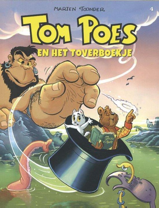 9840f2c0637581 Tom Poes avonturen 4 - Tom Poes en het toverboekje