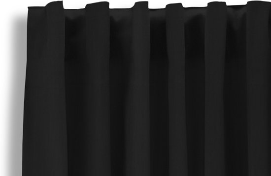 lifa living gordijnen verduisterende gordijnen haken zwart 150cm x 250cm