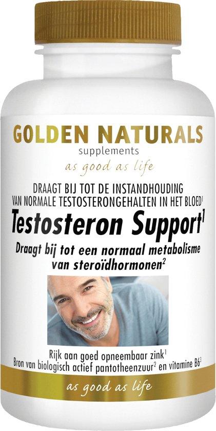 Golden Naturals Testosteron Support (60 tabletten)