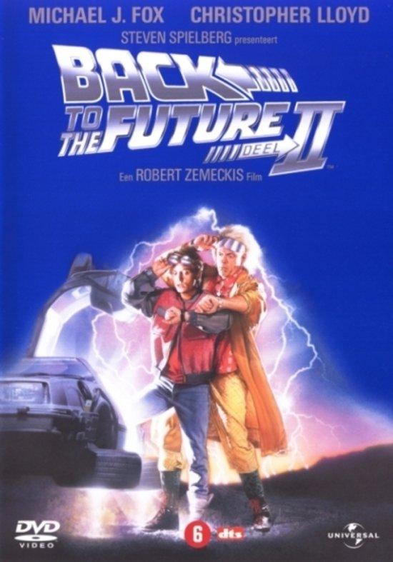 Cover van de film 'Back To The Future 2'