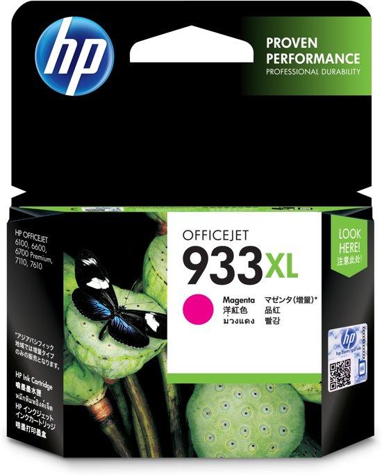 HP 933XL - Inktcartridge / Magenta / Hoge Capaciteit