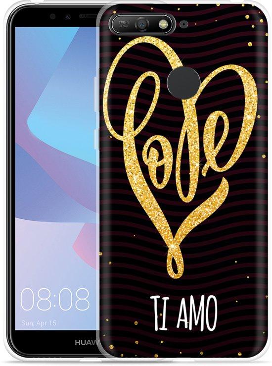 Huawei Y6 2018 Hoesje Ti Amo