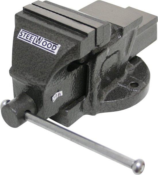 Steelwood Bankschroef Vast - 80 mm