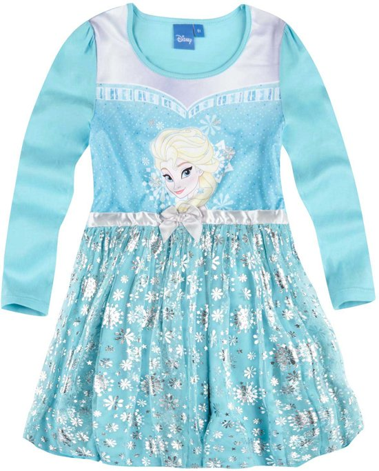 Frozen jurk lange mouw