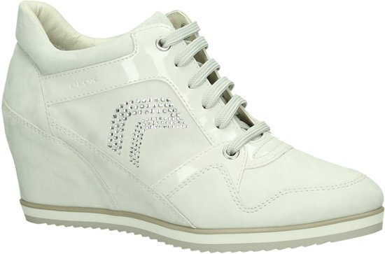 competitive price a8106 ac1b1 bol.com | Geox - D 5454 A - Sneaker met sleehak - Dames ...