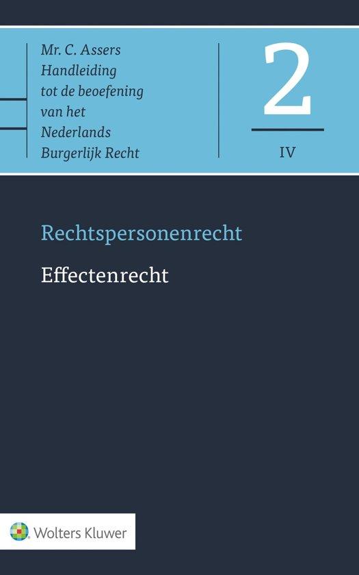 Asser-serie 2 IV - Effectenrecht