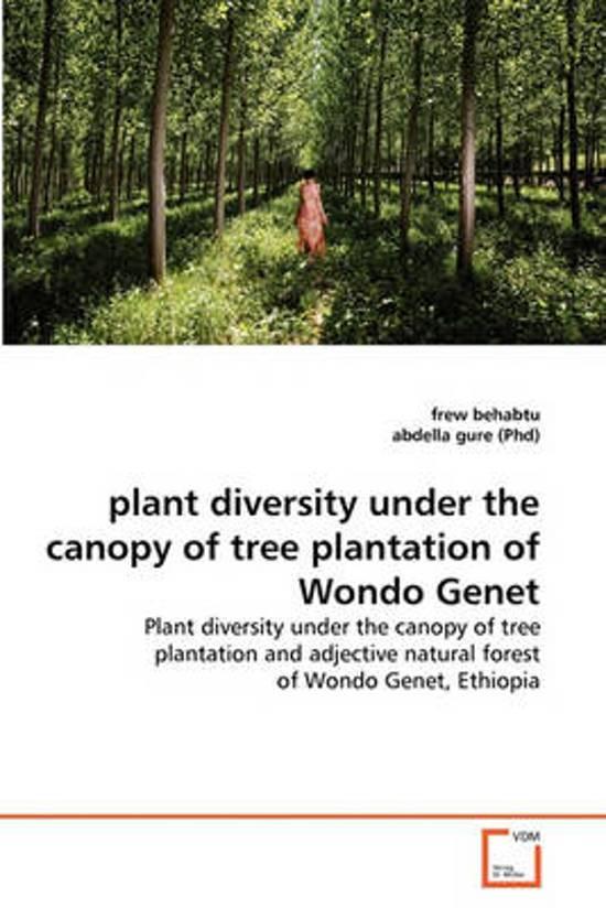 Plant Diversity Under the Canopy of Tree Plantation of Wondo Genet