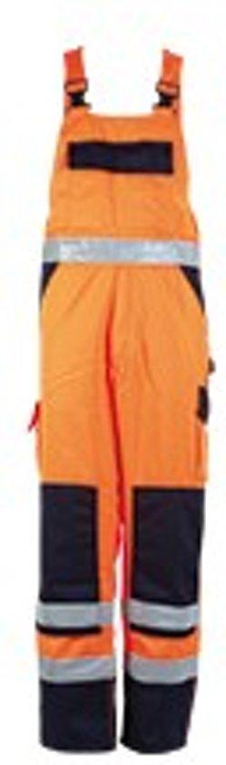 MASCOT veiligheidsbroek Barras, oranje/marine