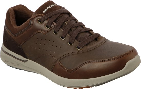 Maat Velago Brown Elent Sneakers 42 Skechers Heren Xawq7nX4