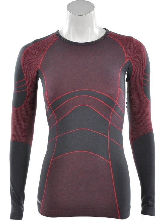 Rucanor Arina II - Sportshirt -  Dames - Maat XS - S - Grijs;Rood