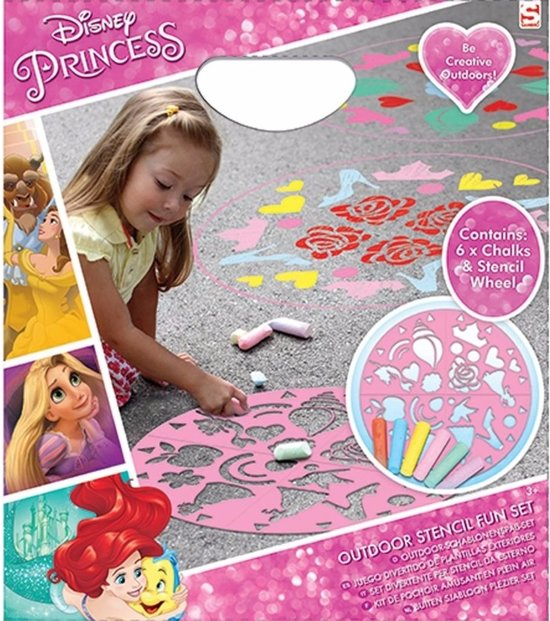 Disney Princess stoepkrijt set