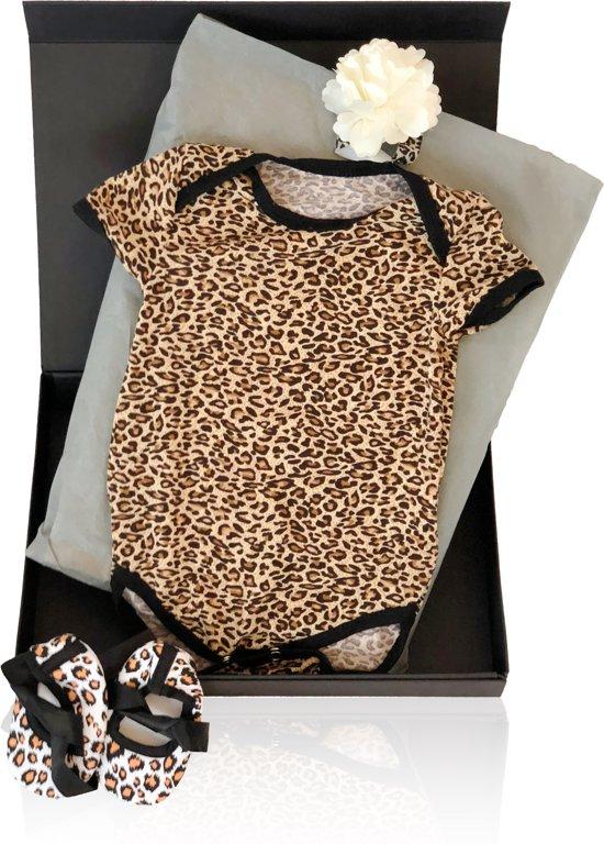 So Cool Baby - Kraamcadeau Leopard Basic - Geschenkset