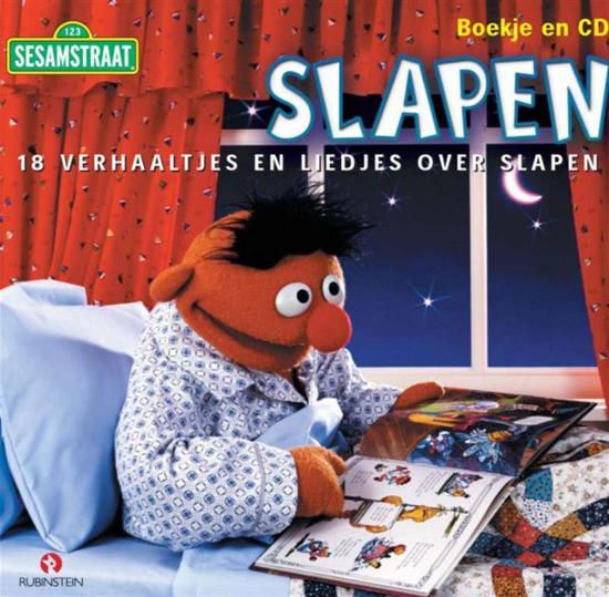 Cover van het boek 'Slapen 14 verhaaltjes en CD' van  Sesamstraat