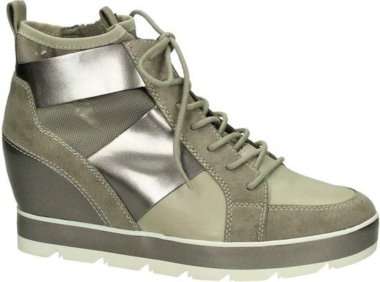 Sleehak sneakers, hoge sneakers met sleehak