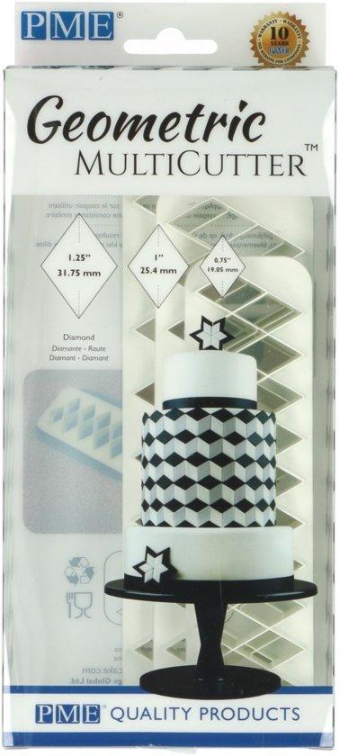 PME Geometrische Multi-Uitsteker Diamant Set/3