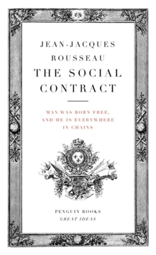 Boek cover The Social Contract van Jean-Jacques Rousseau (Paperback)