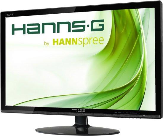 Hannspree Hanns.G HS 245 HPB 23.8'' Full HD LED Mat Flat Zwart computer monitor