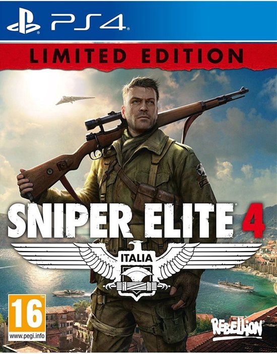 Sniper Elite 4 Limited Edition PlayStation 4