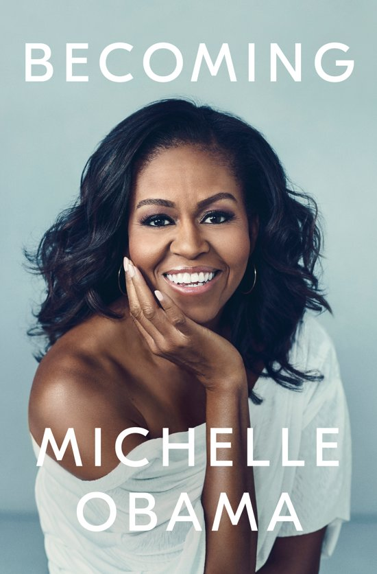 Boek cover Becoming [Engelstalig] van Michelle Obama (Hardcover)