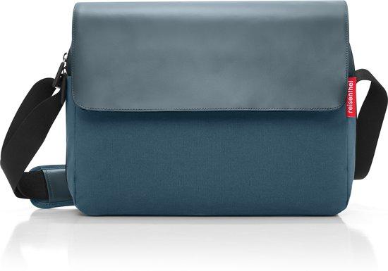 Reisenthel 10 Canvas 2 Courierbag SchoudertasWerktas L Blue wOikZXPuTl