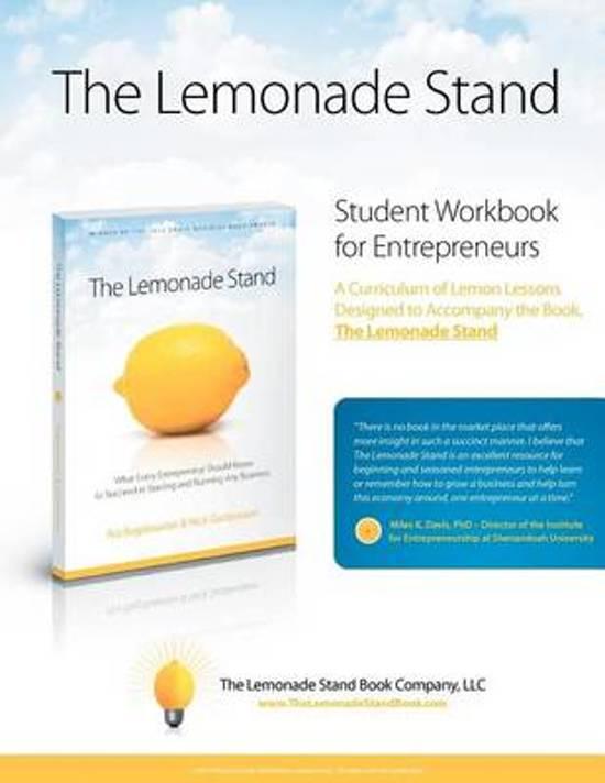 The Lemonade Stand Student Workbook for Entrepreneurs