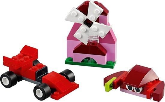 LEGO Classic Rode Creatieve Doos - schoencadeautjes tot 5 euro