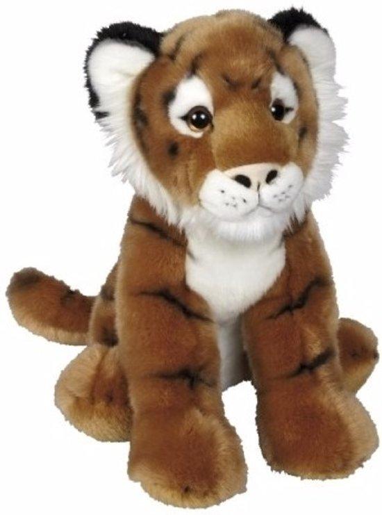 8309fc271ef5a3 bol.com | Pluche tijger knuffel zittend 30 cm - knuffeldier ...