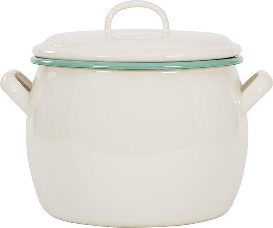 Kookpan met deksel 4 L, Crème - Kockums