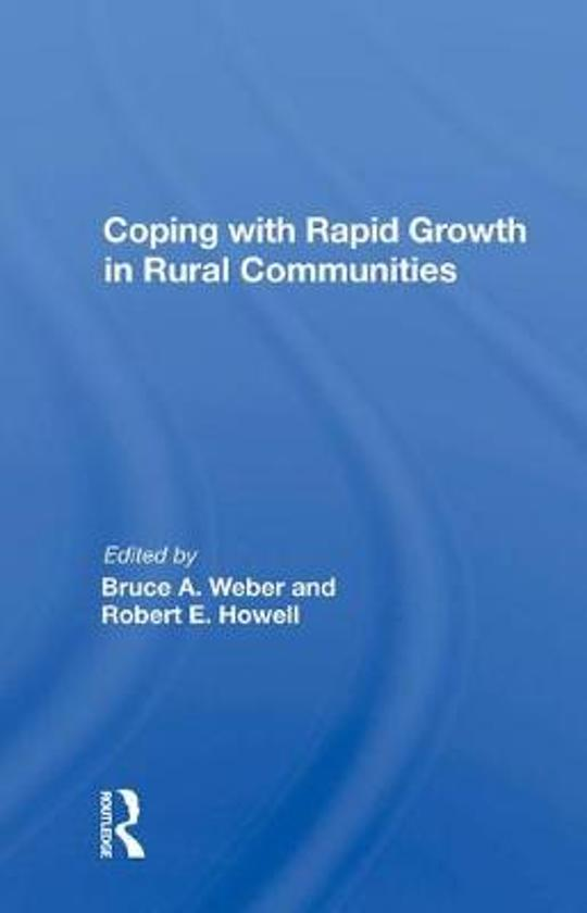 Coping with Rapid Growth in Rural Communities