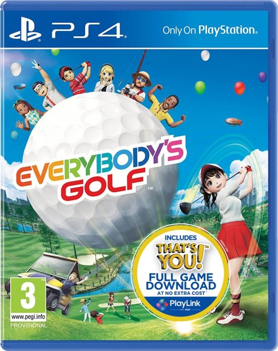 Everybodys Golf - PS4