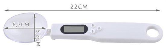 Digitale Precisie Lepelweegschaal - Nauwkeurige Weeglepel - Maatlepel Weegschaal - 0,1 Tot 300 Gram