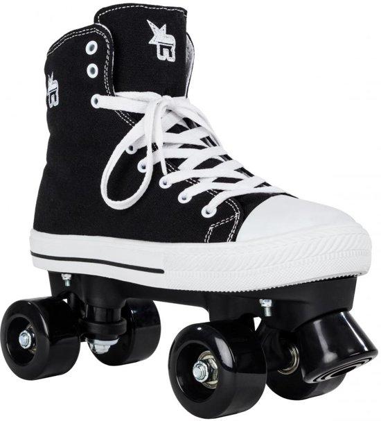 999b1298d31 Rookie Rolschaatsen - Maat 36.5 - Jongens en meisjes - Kinderen en  volwassenen - zwart -