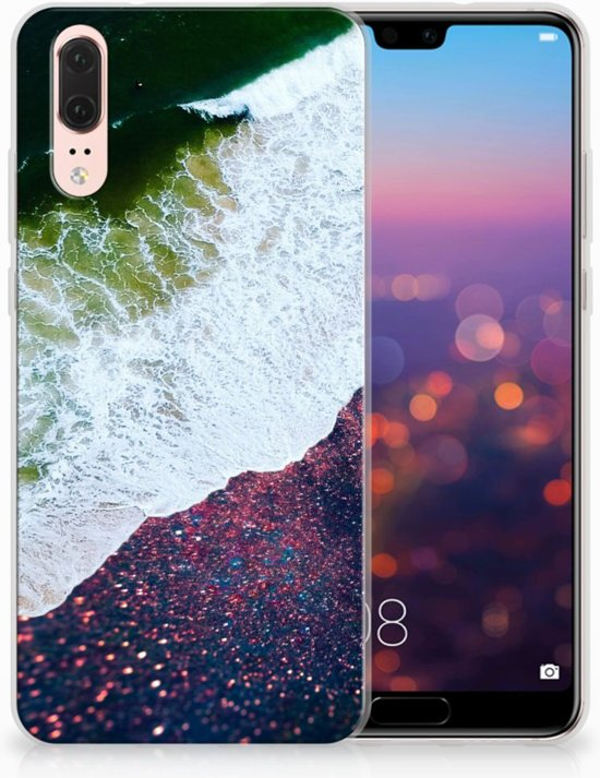 Huawei P20 TPU Hoesje Design Sea in Space